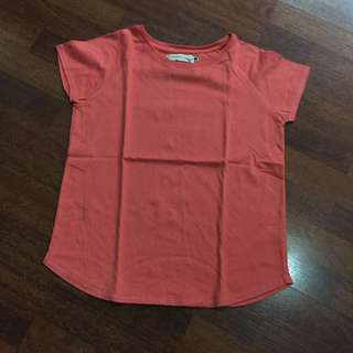 Regatta Salmon Pink Plain Shirt