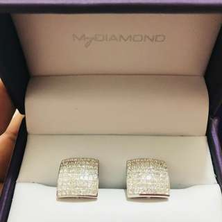 MY DIAMOND EARRINGS