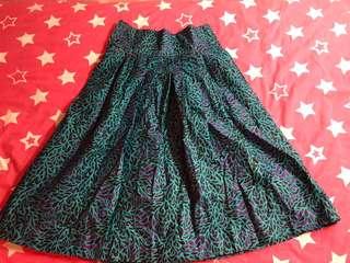 Ankara tailor sewn skirt