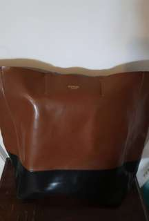 Sorial New York Brown Leather Bag