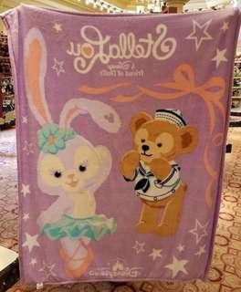 香港 迪士尼 購入❤️ 達菲 史黛拉 毛毯 毯子 被子 冷氣毯