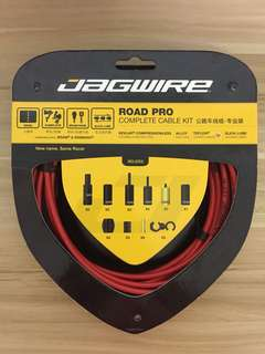 Jagwire Road Pro Complete Cable Kit - Red