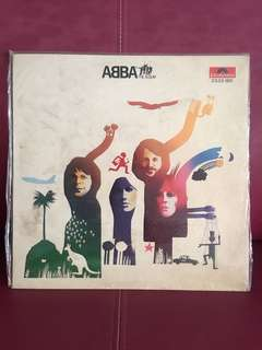 ABBA vinyl LP The Album
