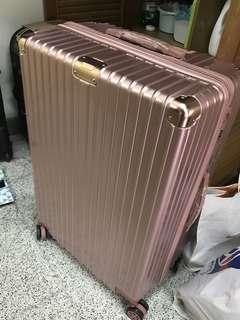 🚚 代售 全新 玫瑰金29吋行李箱