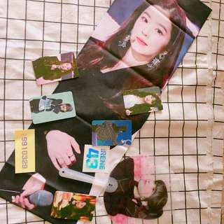 EXO and Red Velvet goods