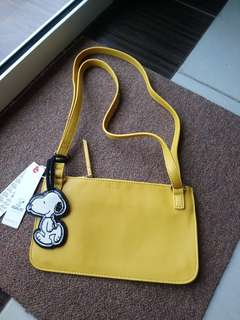 Esprit snoopy sling bag