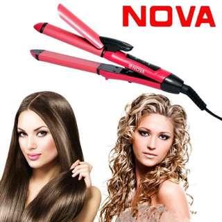 Nova 2in1 Hair Curler and Straightener