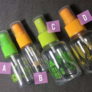 Plastic Travel Containers (Spray)