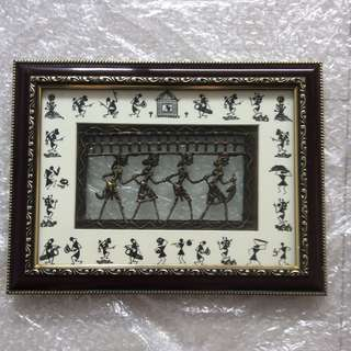 Picture Frame Dhokra Art Metal casting