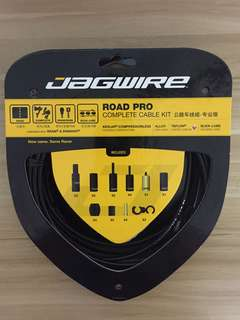 Jagwire Road Pro Complete Cable Kit - Black