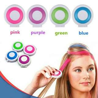 Fashion DIY Temporary Wash-Out Dye Hair color coloring style styling Chalk Powdery decorate dressing care Cake accessories tool