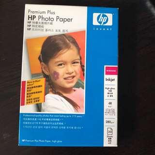 HP Premium Plus 特優光面相紙 一盒20張