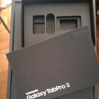 Box of Samsung TabProS