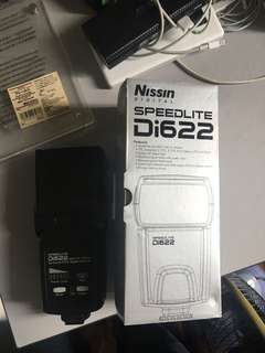 Nissin Di622 Mark 1 Flash Gun Canon type