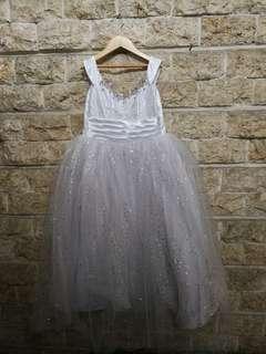 White Princess Gown