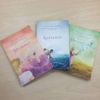 YA Books - Riley Bloom Series: Radiance, Shimmer, Dreamland