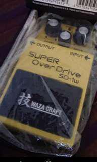 Boss wazacraft super overdrive