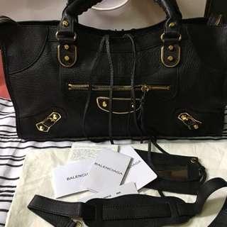 Balenciaga Black 35cm
