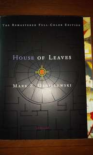 House of leaves ( second edition) coloured