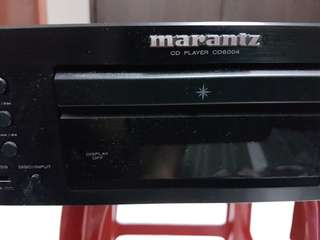 Marantz CD player - CD6004