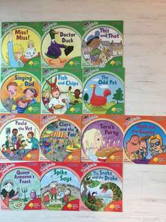Songbirds Oxford Reading Tree (All 13 books)