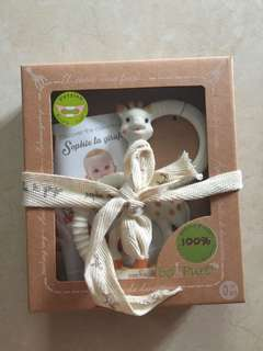 Sophie La Girafe So Pure Teething Ring