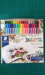 Staedtler 36Brilliant Colours