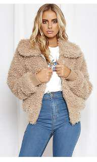 Popcherry teddy jacket