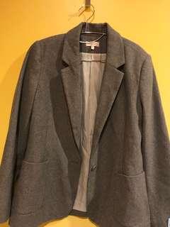 Women's gray blazer size 8-10