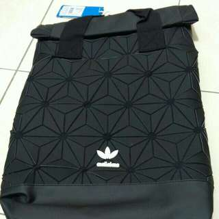 (100%AUTHENTIC) Black adidas 3D backpack