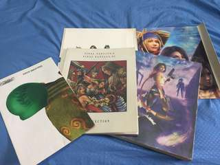 Final Fantasy X-2 Limited Edition Guidebook + Artbook