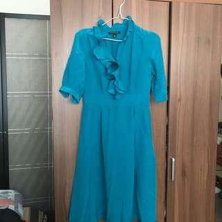Banana Republic Turquoise Dress