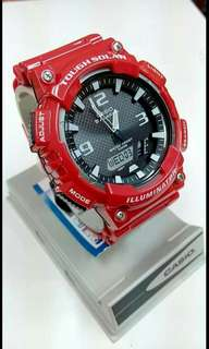 Original Casio Watch Tough Solar available in three colors,  see pictures