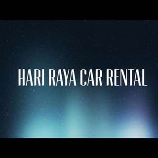 Cars For Hari Raya Rent (2nd Week PROMO)