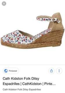 Authentic cath kidston espadrille sandals