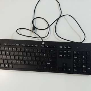 HP Desktop or Laptop keyboard