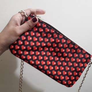 Chain Sling Bag Moschino Original
