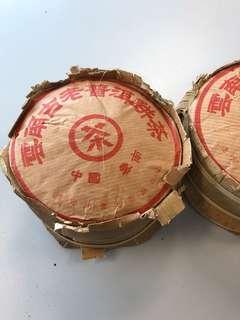 普洱茶 中茶 雲芝古茶 熟 2000 每餅約80克計