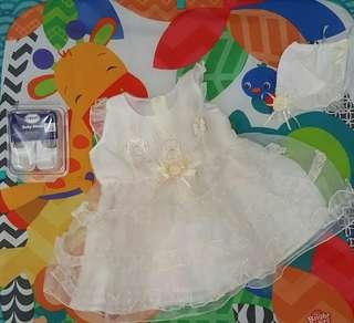 Brandnew Baptismal Dress Set