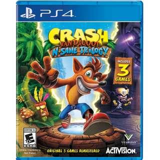 🚚 Crash Bandicoot™ N. Sane Trilogy