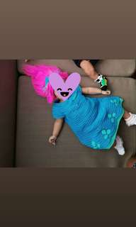 Princess Poppy of Trolls  Costume