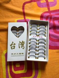 台灣假眼睫毛 3盒