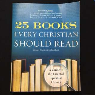 UPDATED PRICE - 25 Books every Christian should Read