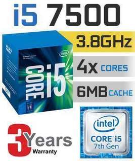 Intel i5-7500 with Gigabyte B250-D3H mATX Motherboard