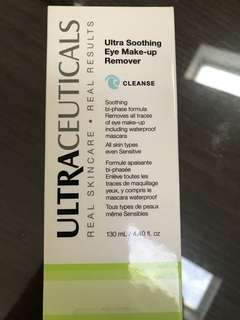 Ultra soothing eye makeup remover