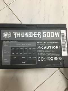Cooler Master 500W Power Supply