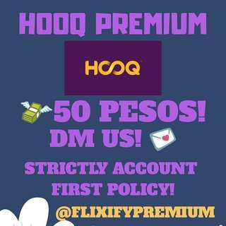 1 MONTH HOOQ PREMIUM ACCOUNT! 💯