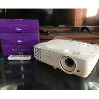 BenQ Projector MH526 Hull HD 3D