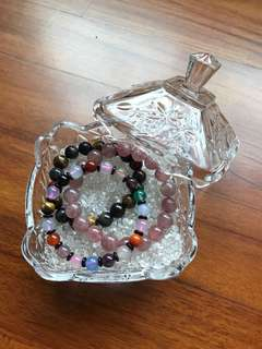 Small Glass Purification Bowl for Crystal Bracelets & Rings