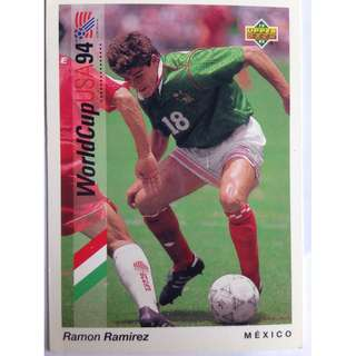 Ramon Ramirez (Mexico) - Soccer Football Card #49 - 1993 Upper Deck World Cup USA '94 Preview Contenders